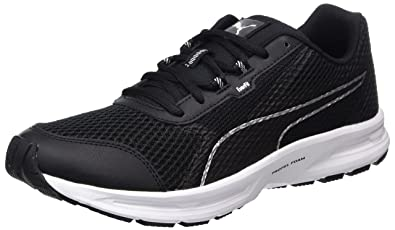 57dd1d84a6fc Puma Essential Runner, Chaussures Multisport Outdoor Homme, Noir  (Black-Silver),