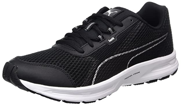 Essential Runner, Zapatillas de Deporte para Exterior Hombre, Negro (Black/Silver), 40 EU Puma