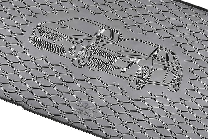 Passgenaue Kofferraumwanne Und Gummifußmatten Geeignet Für Opel Corsa F Ab 2019 Auto