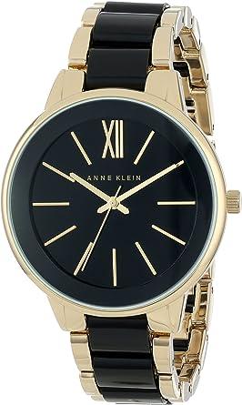 Amazon.com: Anne Klein AK/1412BKGB reloj para vestir para ...