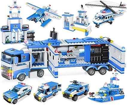 Details about  /City Police 3D Kids Car Parking Set