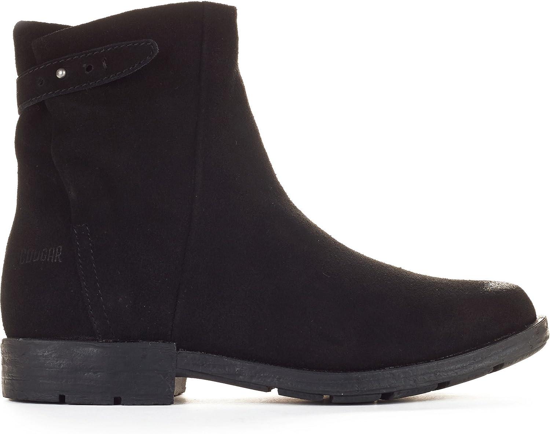 NEW Womens Cougar Yazoo Suede Ankle Boots Black Sz 6 M Waterproof