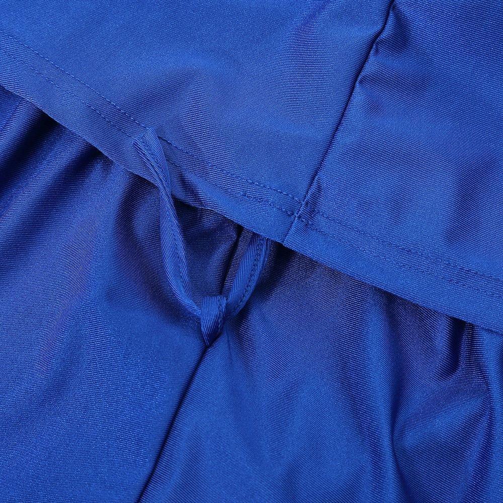 Swallowuk Damen Muslim Abaya Dubai Muslimische Islamische Burkini Badeanzug Bademode Badebekleidung Schwimmanzug Swimsuit Lange /Ärmel Arabische Indien T/ürkische Bikini Set XL, Rose