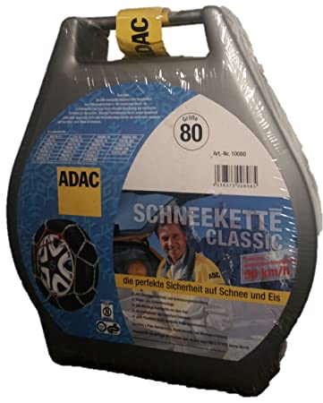 ADAC Classic 100 Schneekette f/ür Radgr/ö/ßen 205 215 220 225 230 235 240 245 255