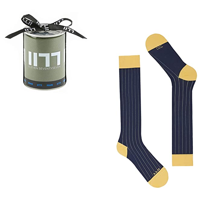 Calcetines largos para hombres Pinstripes in Dryarn, calcetines ...