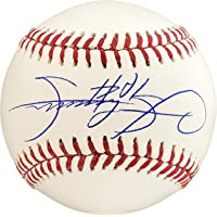$139 » Sammy Sosa Autographed Official MLB Baseball Chicago Cubs Beckett BAS Stock #177590