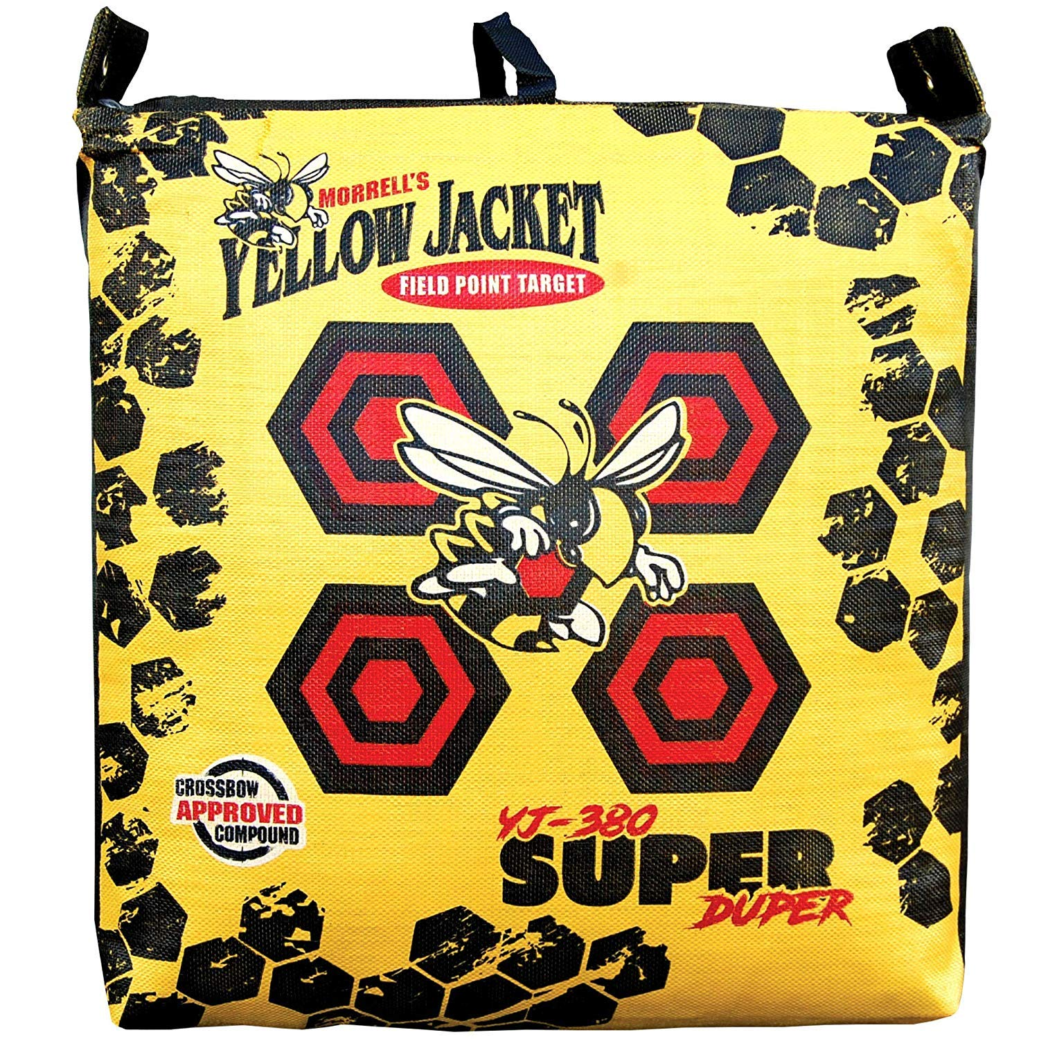 Morrell Super Duper Field Point Bag Archery Target - for Compound Bows and Crossbows up to 400FPS (Pack of 2)