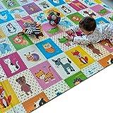 حصيرة لعب ممفاكتوري | حصيرة أرضية | حصيرة لعب الطفل | حصيرة اللعب | 200 × 180 × 1.5 سم | سماكة إضافية