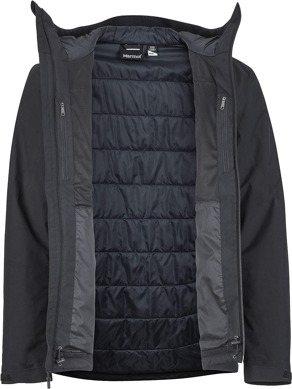 Impermeabile Giacca Antipioggia Rigida Traspirante Uomo Antivento Marmot Solaris Jacket