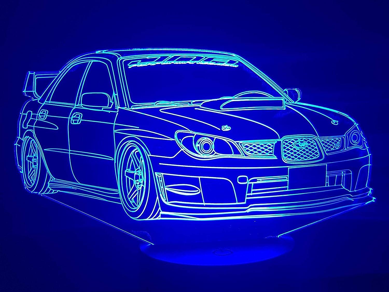 Subaru, lampe 3D à LED lampe 3D à LED