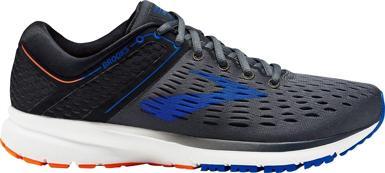 ブルックス シューズ スニーカー Brooks Men's Ravenna 9 Running Shoes BlackBlue [並行輸入品] B079MF6L64
