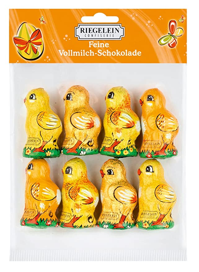 Milk Chocolate Easter Chickens