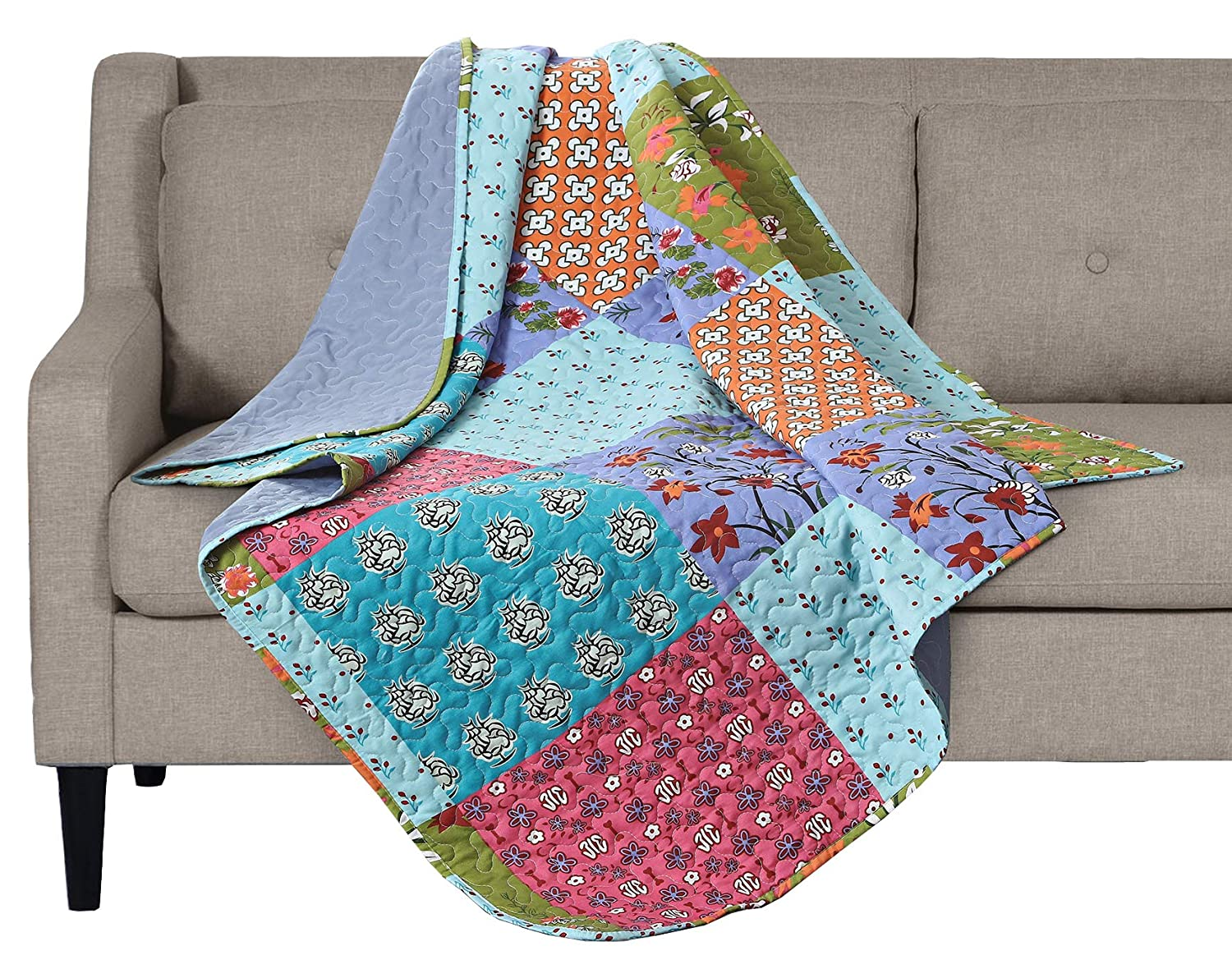 All is Bright Printed Quilted Throw Blanket