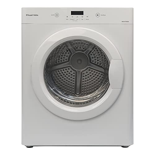 Russell Hobbs RH3VTD400 Compact Vented Tumble Dryer, White [Energy Class C]