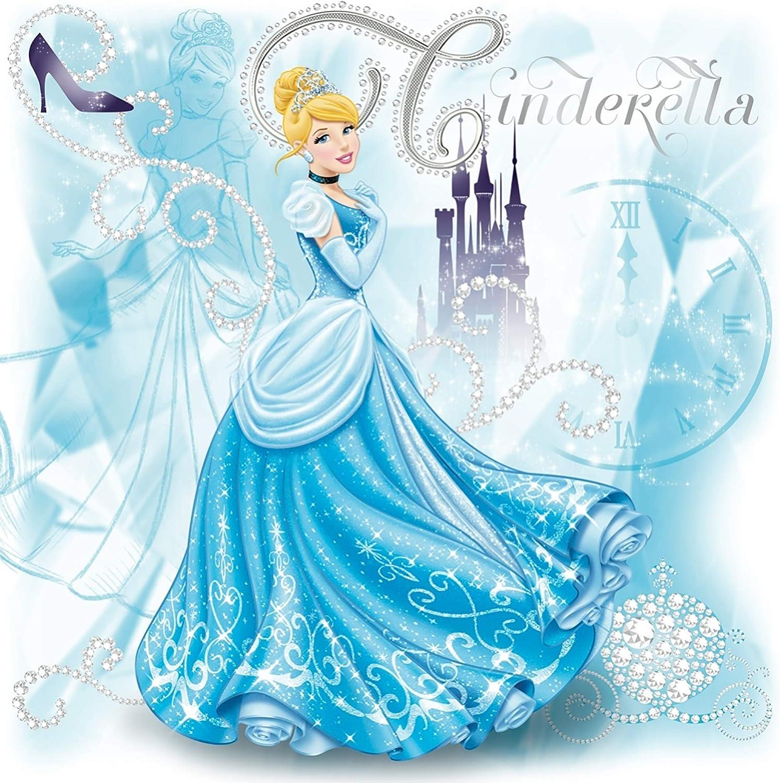 """7/"""" ARIEL Little Mermaid Disney iron-on rhinestone transfer for tshirt"""