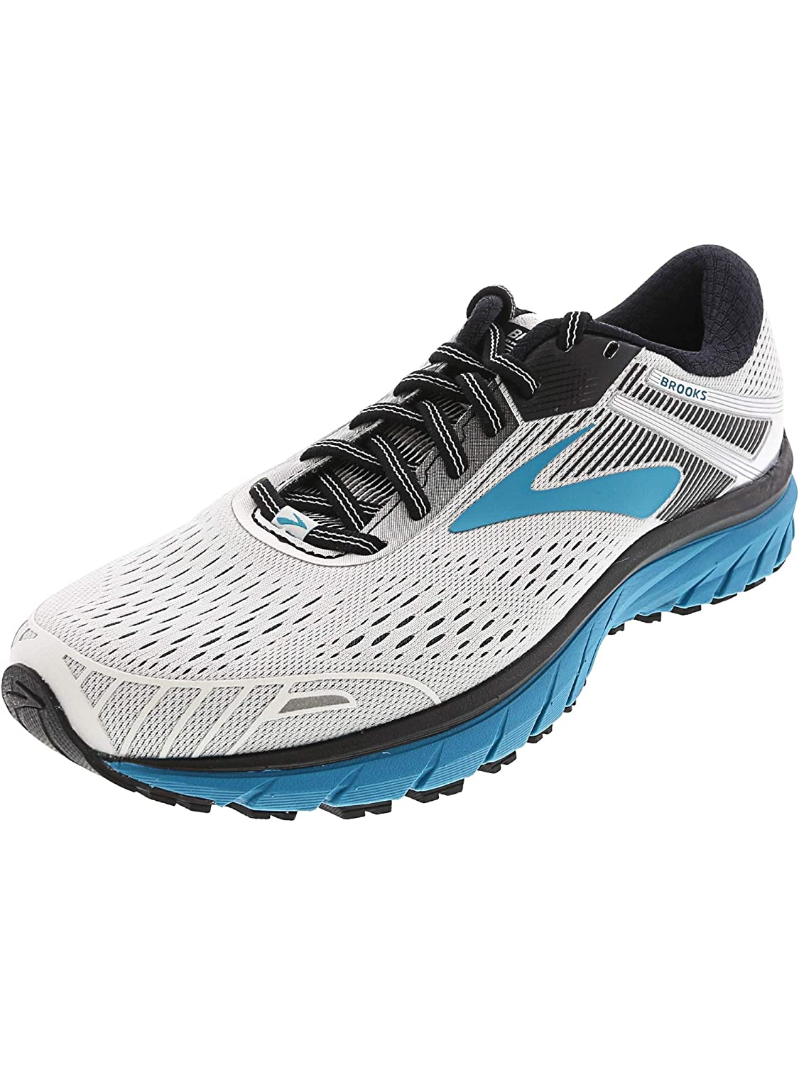 White   Black   Teal Brooks Women's Ghost 11 Running shoes