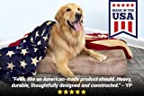 """Big Barker 7"""" Pillow Top Orthopedic Dog Bed - Giant Size - 60 X 48 X 7 Inches - Chocolate - for Large and Extra Large Breed Dogs"""