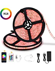 LED Strip Lights 10M,Colohas WiFi Wireless Smart Phone Controlled Light Strip Kit 5050 Waterproof IP65 LED Lights,Working with Android and iOS System,IFTTT, Google Assistant