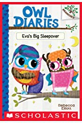Eva's Big Sleepover: A Branches Book (Owl Diaries #9) Kindle Edition