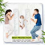 Image Bamboo Bed Rail Bumper Foam Guard With Hypoallergenic Cover