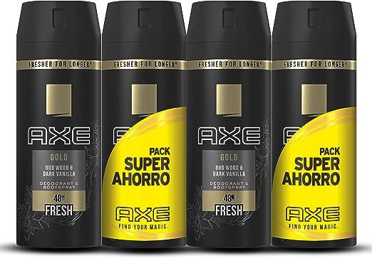 Axe Desodorante Ice Chill Pack Duplo Ahorro - 2 Paquetes de 2 x 150 ml (Total: 600 ml): Amazon.es: Belleza