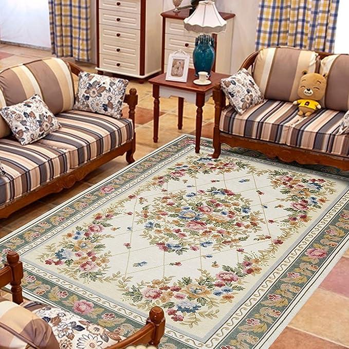 Amazon.com: European Style Retro Style Living Room Non-slip ...