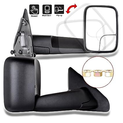 New Door Mirror Glass Passenger Side For Dodge Ram 1500 2500 3500 02-08