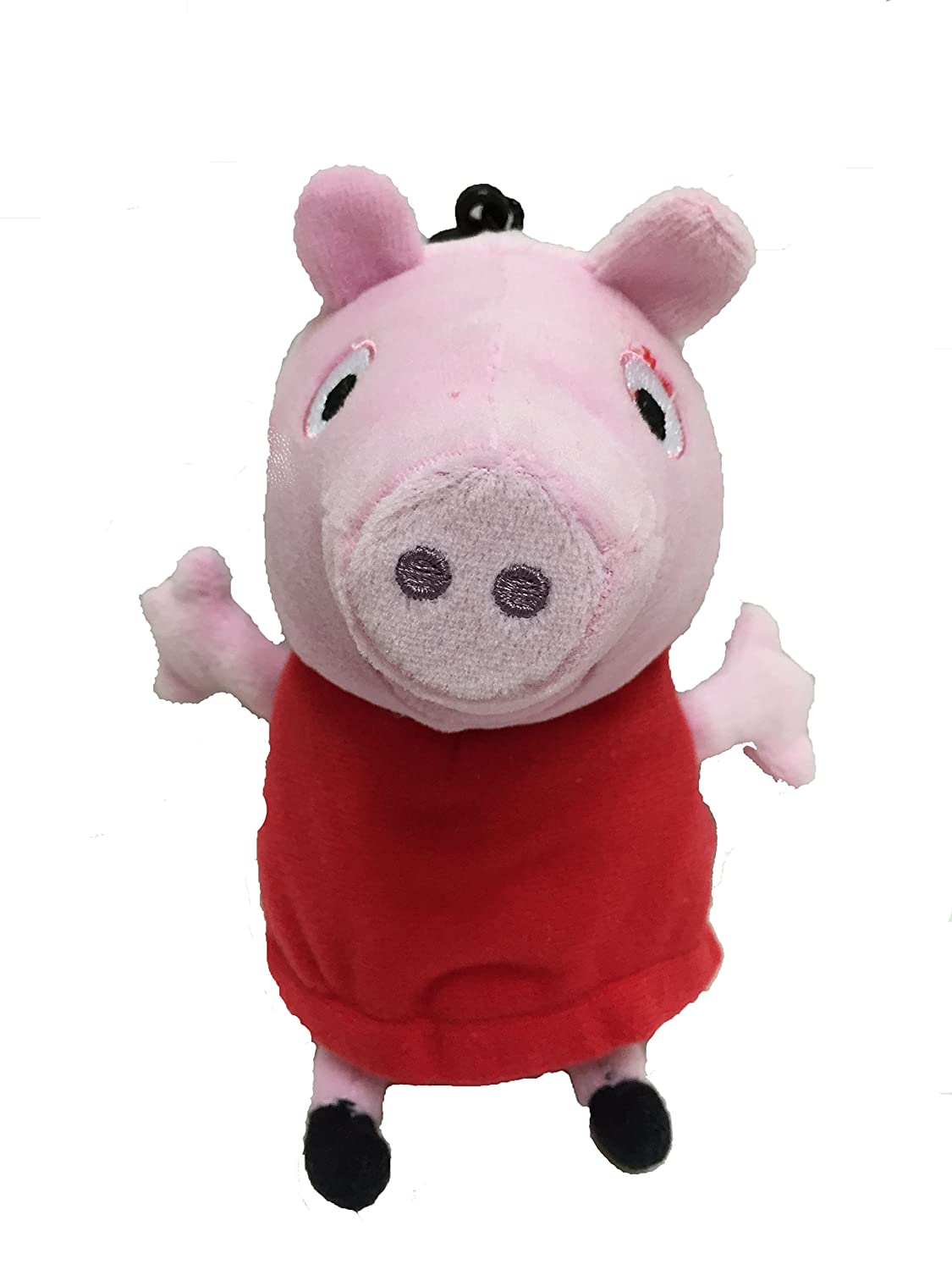 """Peppa Pig Plush 9 """" Coin Purse withキーチェーン B00RYQC5IS"""