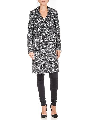 TWIN- SET - Abrigo - para mujer Grey melange 40