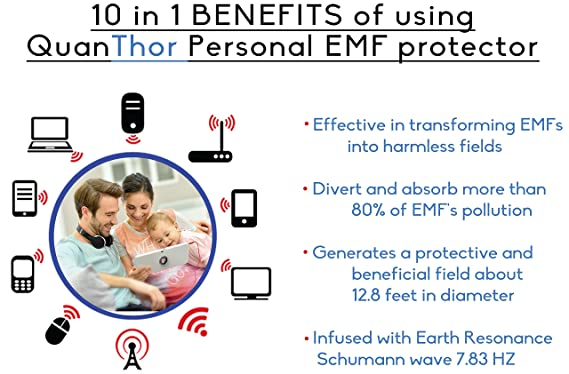 2Pack: EMF Protection Tesla Technology Personal Energy Field Device. Geopathic Stress Zone Protection no matter where you are.