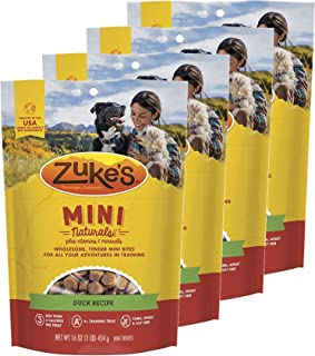 product image for Zuke's Mini Naturals Dog Treats Duck Recipe 16 oz 4 Pack