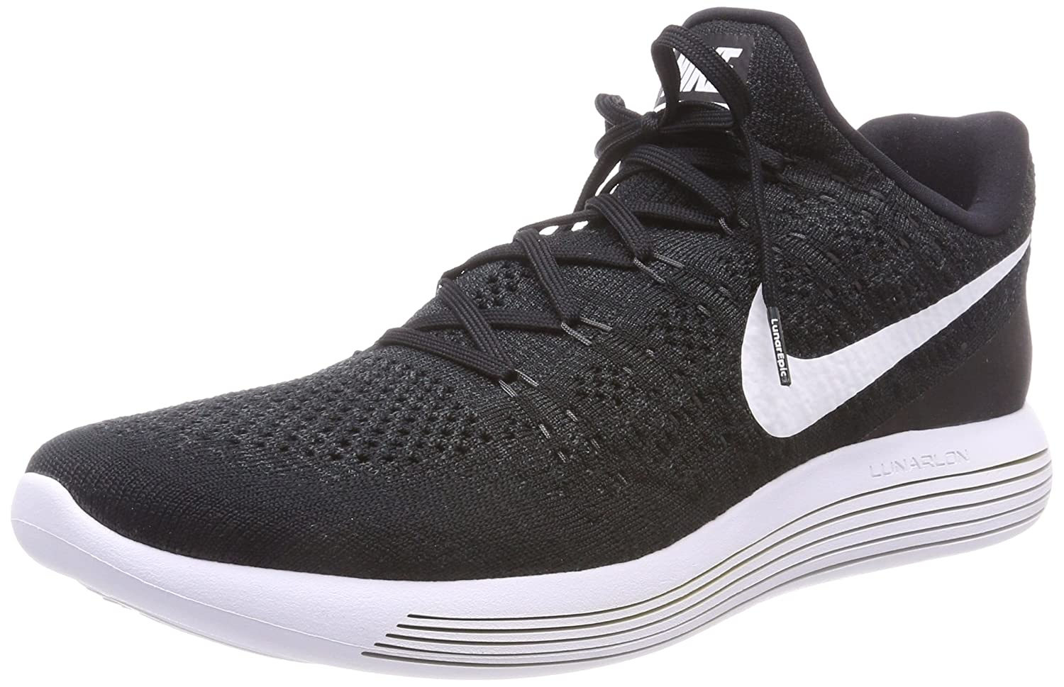 Amazon.com | Nike Lunarepic Low Flyknit 2 Mens Road Running Shoes 863779-001 Size 6.5 D(M) US | Running