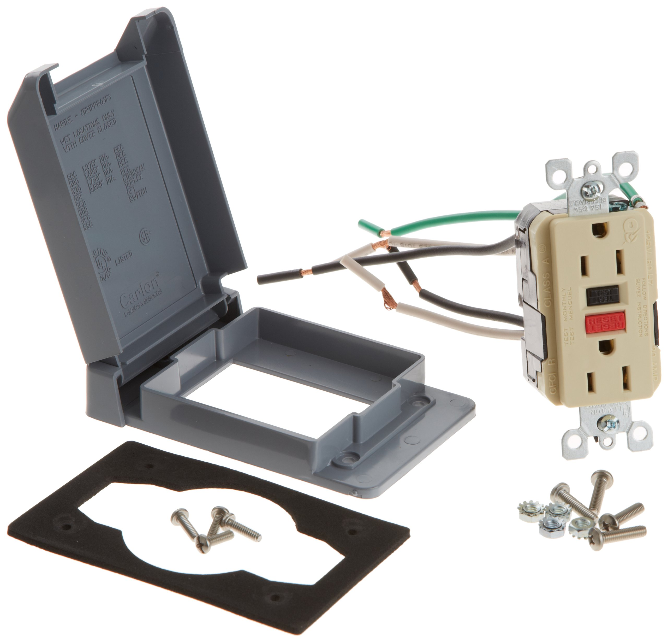 Zodiac 6070 Ground Fault Circuit Interrupters Kit Replacement for Select Zodiac Jandy Power Centers