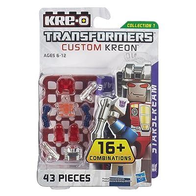 KRE-O Transformers Custom Kreon Starscream Set (A6089): Toys & Games