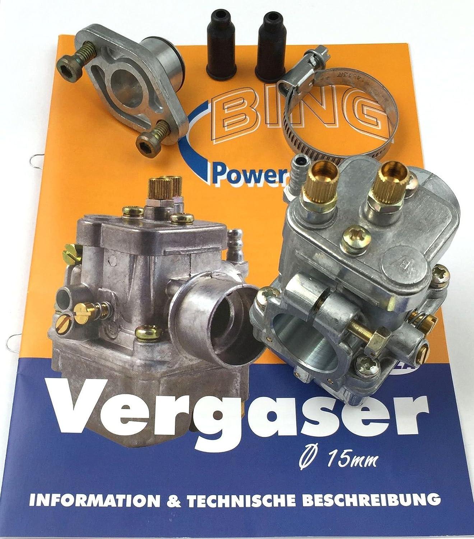 BING 17//15//1104 - kpl 60km//h-Variante SR50//1 Vergaser