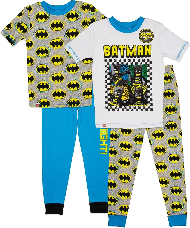 LEGO Boys 4-10,4 Piece Pajama Set