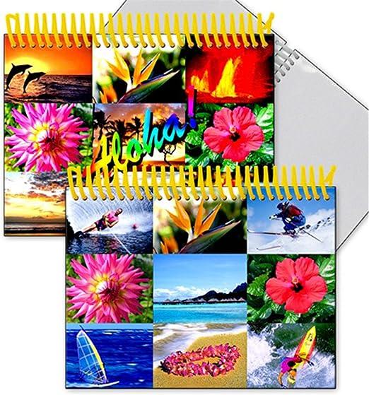 classic tropical island home decor home improvement.htm amazon com lenticular flip photo album 4x6 in hawaii summer  amazon com lenticular flip photo album
