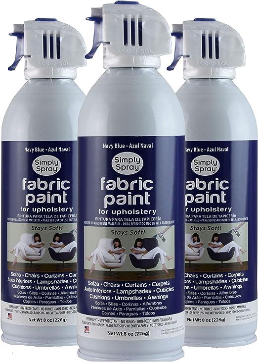 Simply Spray - Pintura en aerosol para tapicería 226 g En aerosol