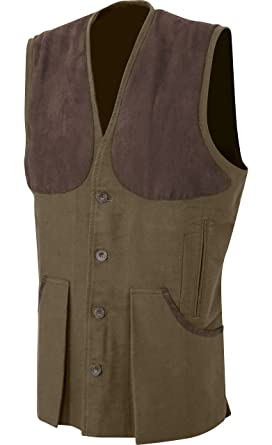 3a31fd979f726 Jack Pyke Moleskin Vest Hunting Shooting Outdoor Countrywear (Small, Brown)