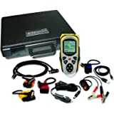AutoXray AX7000 Tech Scan Diagnostic Code Scanner with Live, Record and Playback Sensor Data Capability and SD Card Slot for Upgrades