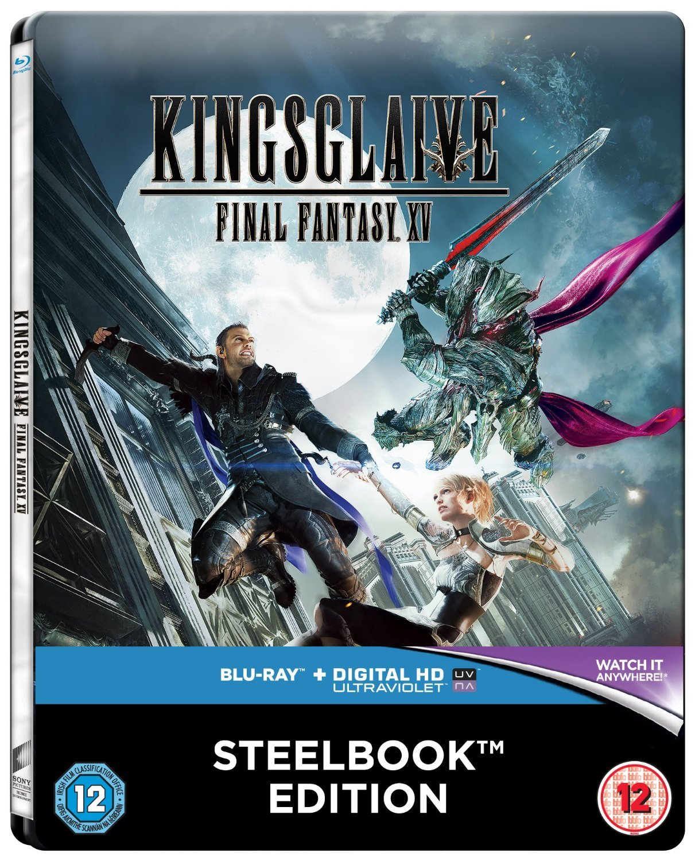 Amazon Com Kingsglaive Final Fantasy Xv Steelbook Blu Ray