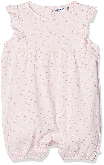 37800cfed37a2 Noukies Combinaison Courte Jersey Smart Pyjama Bébé Fille Rose (Rose) 6-12  Mois