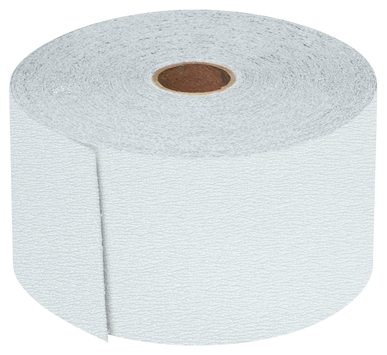 320 Grit 2-3//4 x 25 yd Roll PSA Sandpaper Premium gold Aluminum Oxide