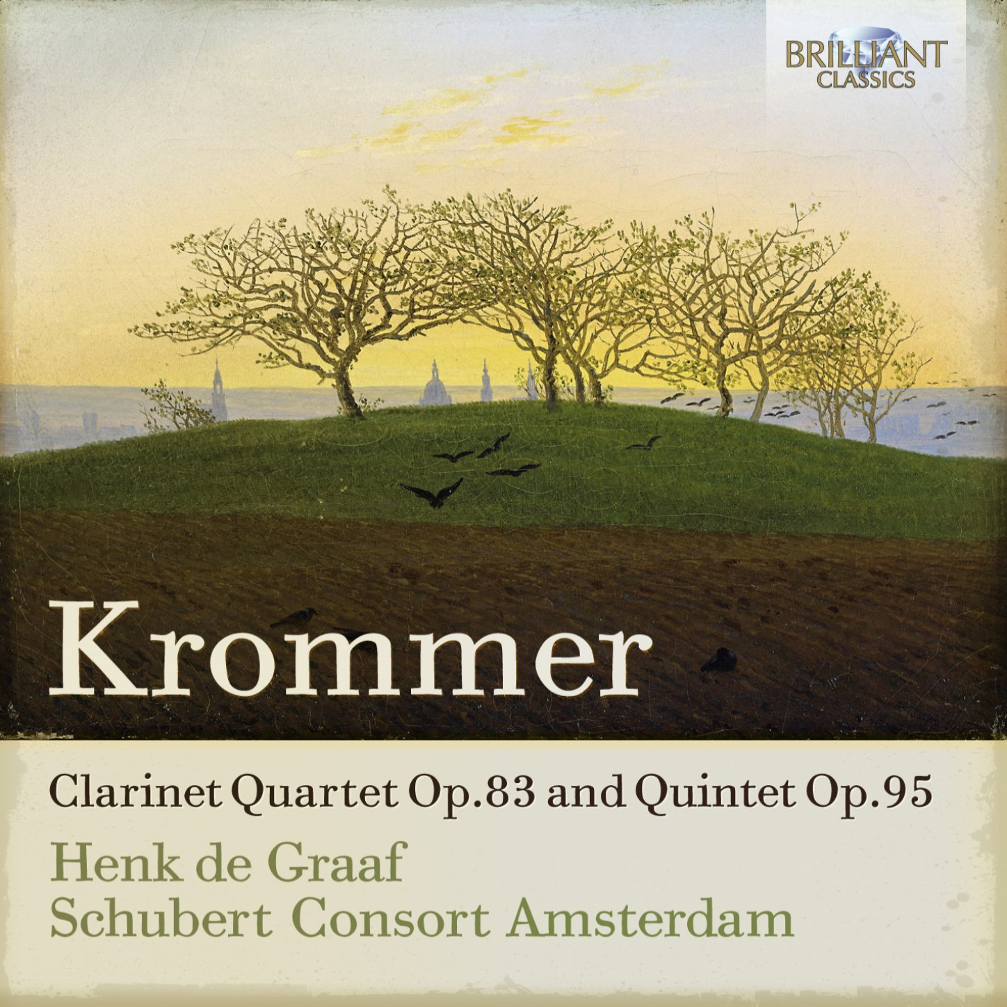 CD : SCHUBERT CONSORT AMSTERDAM - Clarinet Quartet Op.83 & Quintet Op.95 (CD)