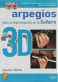 ARPEGIOS IMPRO GTR 3D+CD+DVD (Play Music Espana)