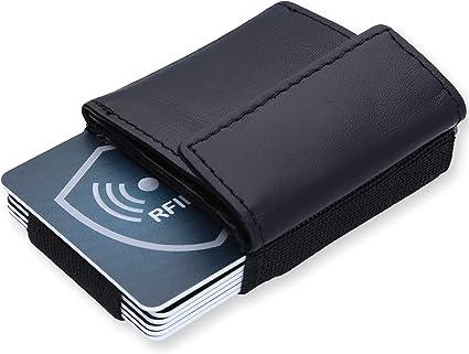Vordertasche minimalistisch EDC Slim Wallet 15 Kartenhalter für Männer BargeRSDE