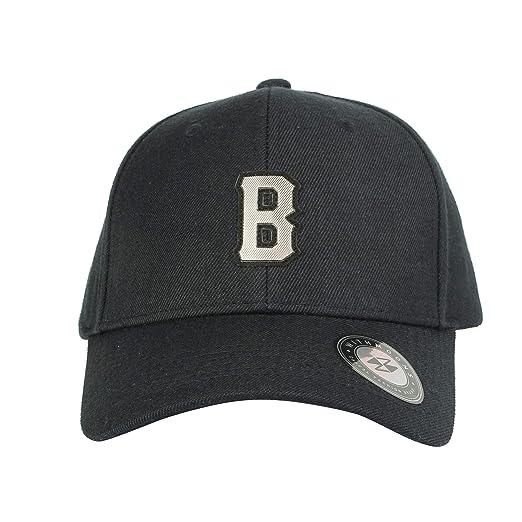 WITHMOONS Gorras de béisbol Gorra de Trucker Sombrero de Baseball Cap B  Letter Metalic Patch Boston Hat CR11079 (Navy)  Amazon.es  Ropa y accesorios 67b89810aae