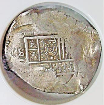 ES 1598 1621 AD Spain Antique Silver Spanish Coin 8 Reales XF 45 NGC At Amazons Collectible Coins Store