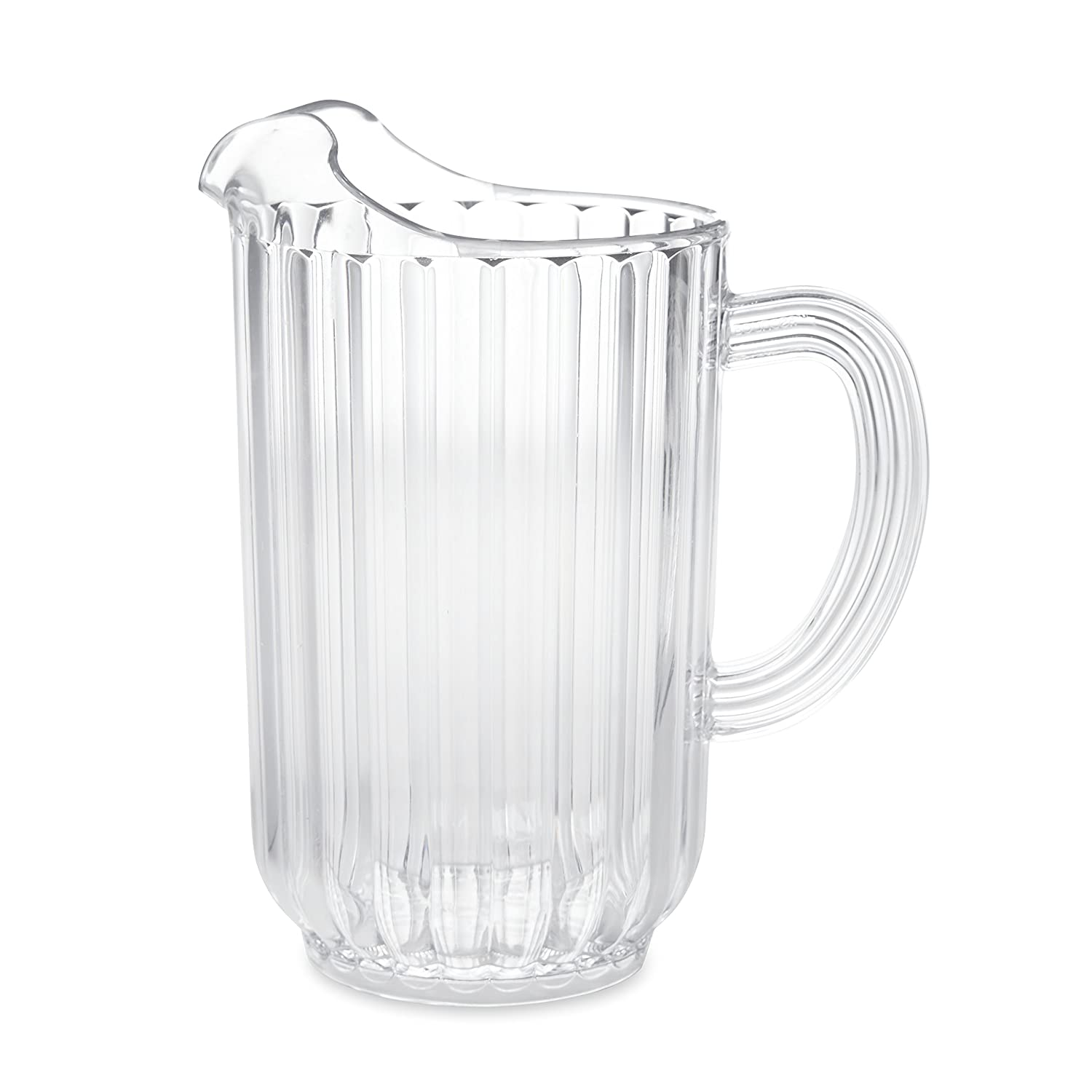 Rubbermaid Commercial 3339CLE Bouncer Plastic Pitcher, 72 oz, Clear FG333900CLR