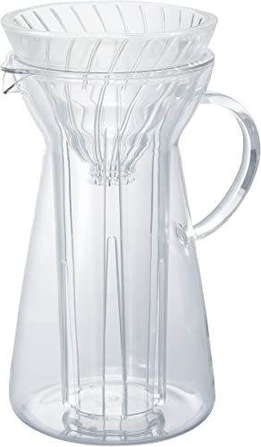 Hario V60 Glass Pour Over Hot and Iced Coffee Maker